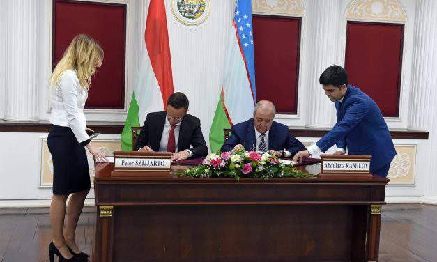 Hungary's foreign minister sees opportunities for Hungarian companies in Uzbekistan
