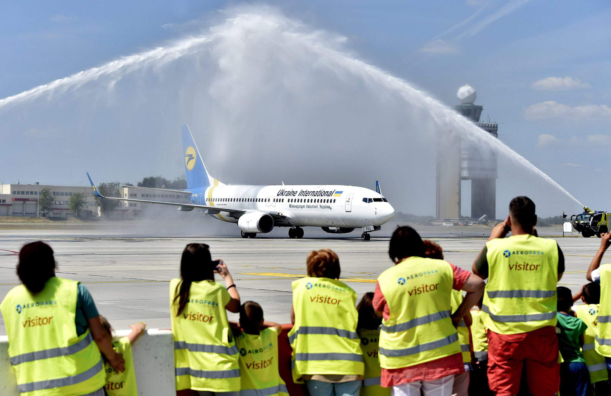 Ukrainian airlines launches daily flights between Budapest and Kiev