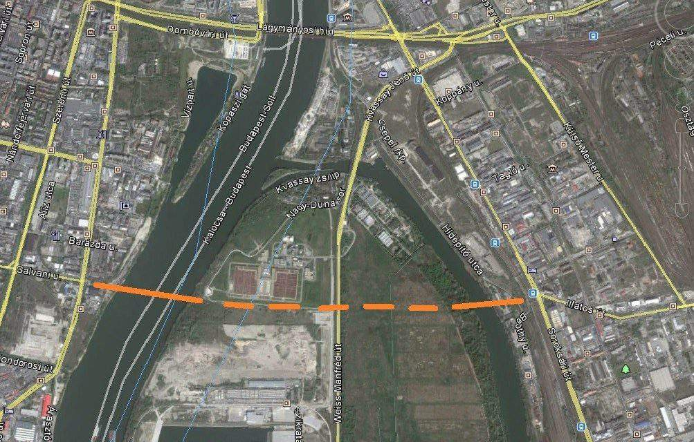 New bridge to be built in Budapest
