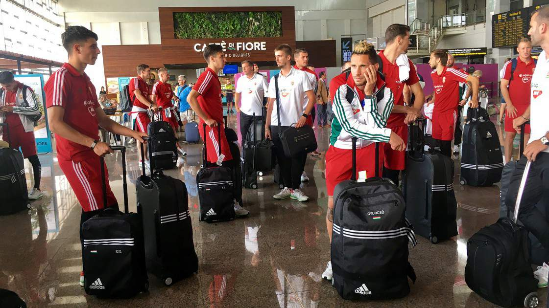 Hungary squad arrives in Spain ahead of Andorra clash