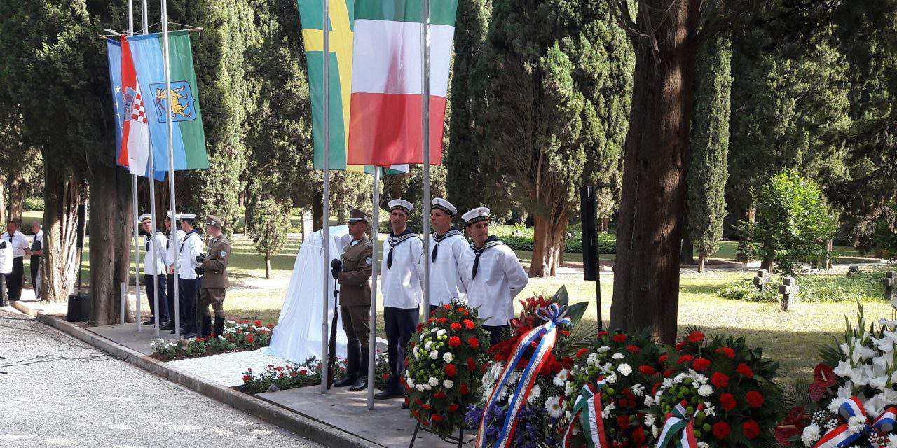 Memorial to WWI Hungarian naval martyrs unveiled in Croatia