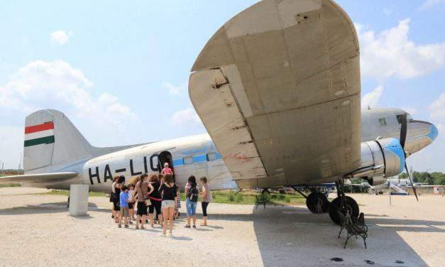 Aeropark: Retired planes await children at Budapest Airport – PHOTOS