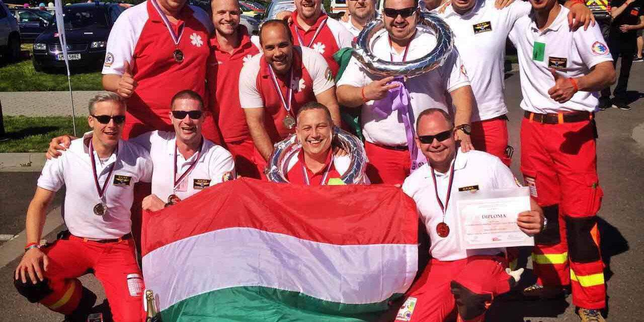 Hungarian EMS are second among the world's bests