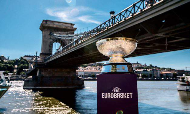 Hungary welcomes FIBA EuroBasket 2017 Trophy Tour upon return to the big stage
