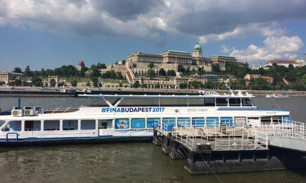 Heading to the Budapest FINA World Championships by boat? For sure!