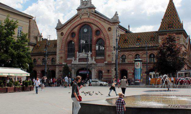 A must-see place in Budapest: The Great Market Hall