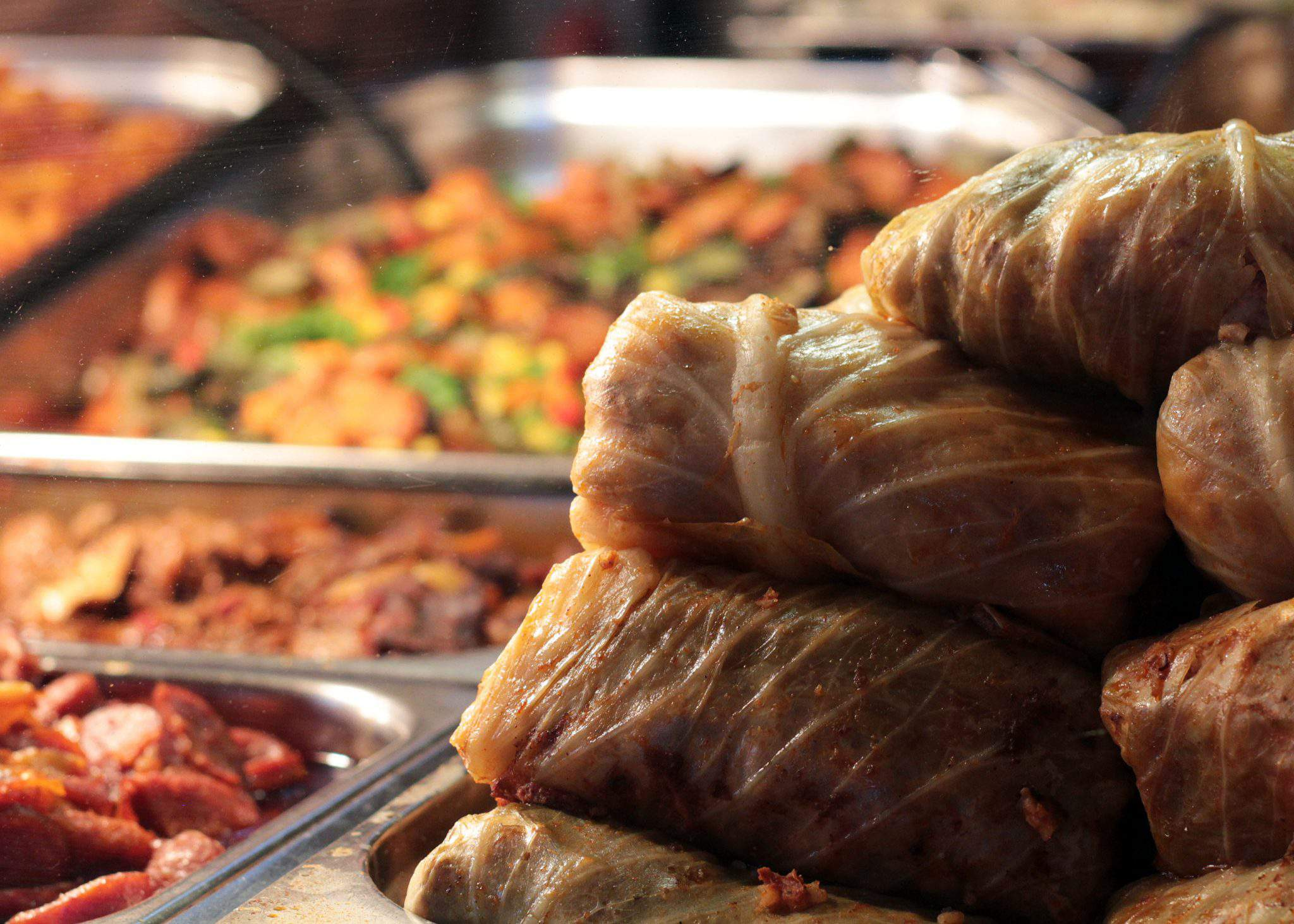 food stuffed cabbage