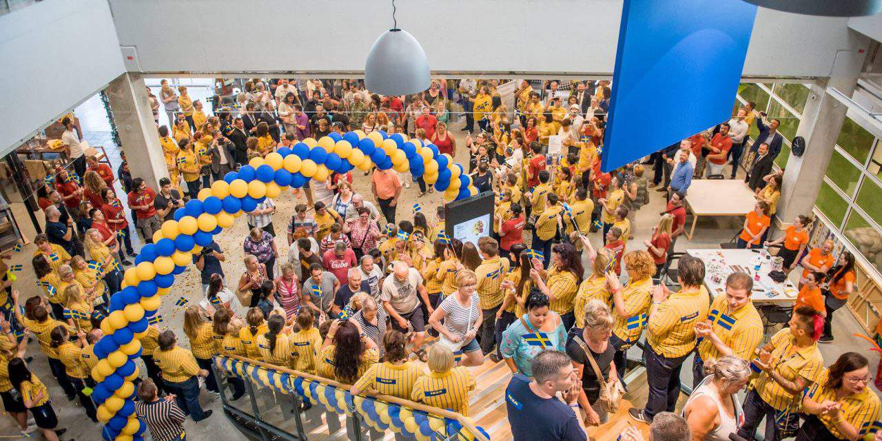 IKEA opening it largest store in Hungary and coming up with a new idea