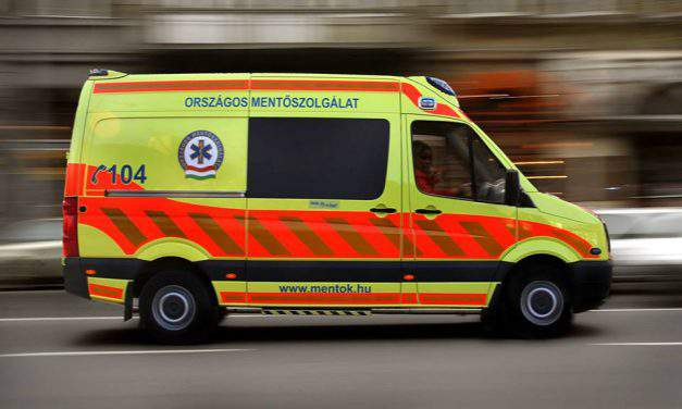 Military hospital, ambulance services hold exercise on fictitious explosion in Budapest