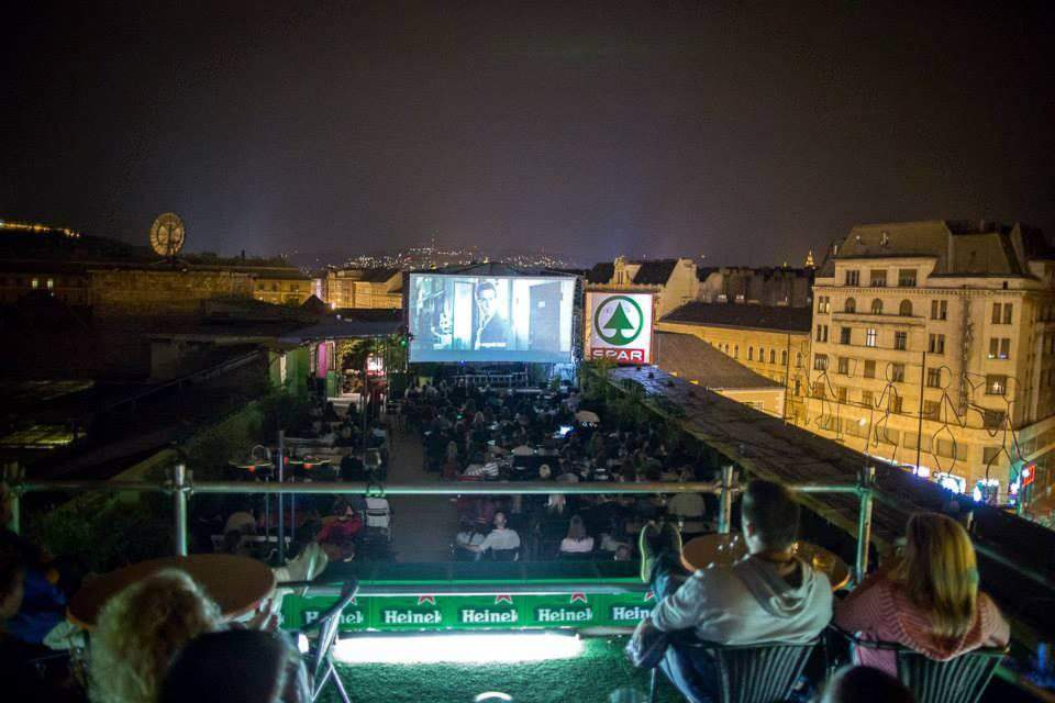 Budapest Rooftop Cinema is getting a nice re-do