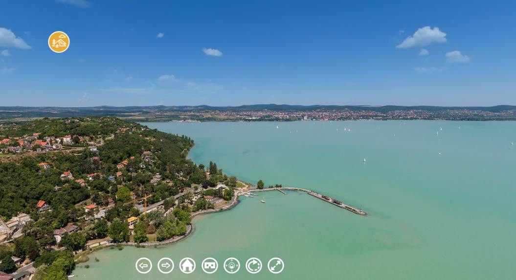 Almost feels like you're there: get a 360 degree view of Hungarian sights