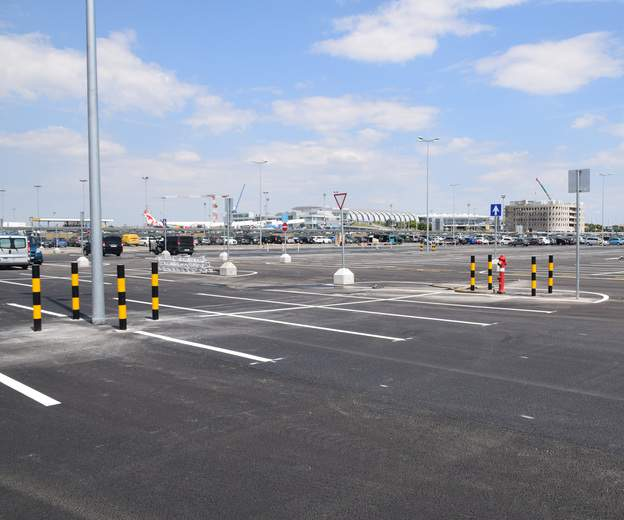 1000 new parking spaces at Budapest Airport