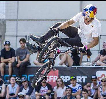 Hungarian BMX cyclists on their way to the Olympics
