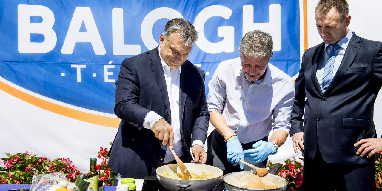 Inauguration ceremony were held for a new production plant for Balogh Tészta