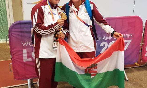 Hungarian Paralympic runner Bernadett Biacsi becomes world champion in London