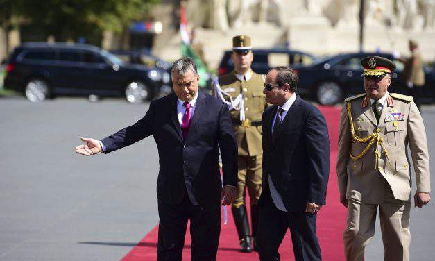 Egyptian President Abdul Fattah al-Sisi visits Budapest – UPDATE
