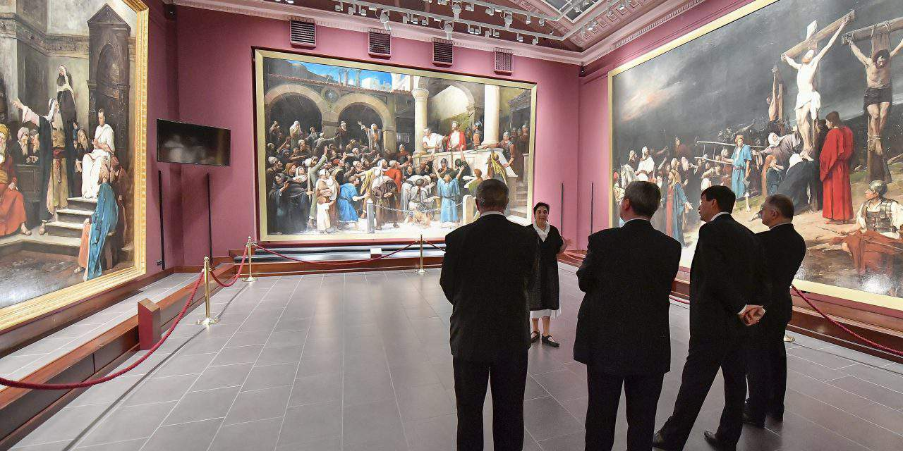Munkácsy in independent exhibition at St Petersburg Hermitage