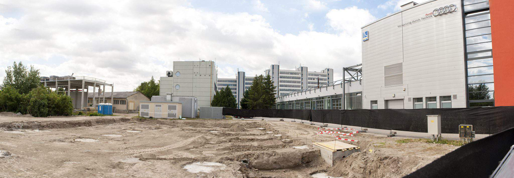The groundbreaking ceremony for the Hungary's first-ever Centre of Higher Education and Industry Cooperations at the Széchenyi István University.