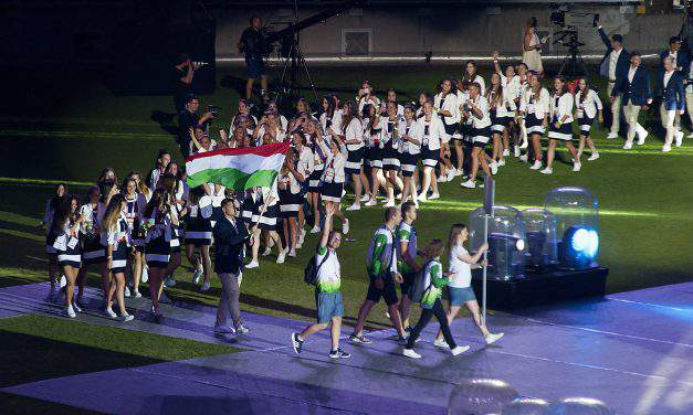The European Youth Olympic Festival (EYOF) held in Győr was a real Hungarian success story