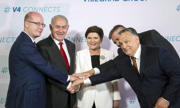 Visegrad Four met Israel's PM Netanyahu in Budapest