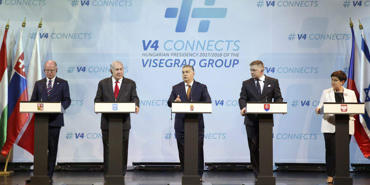 Visegrad Four conveys support to Italy regarding migration crisis