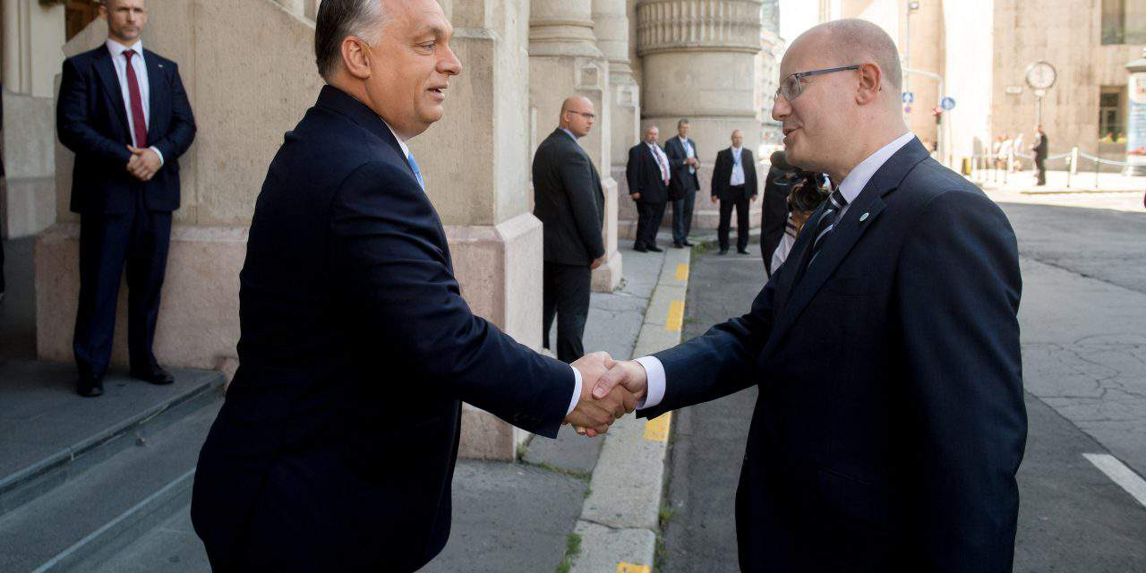 Orbán holds talks with Czech PM Sobotka