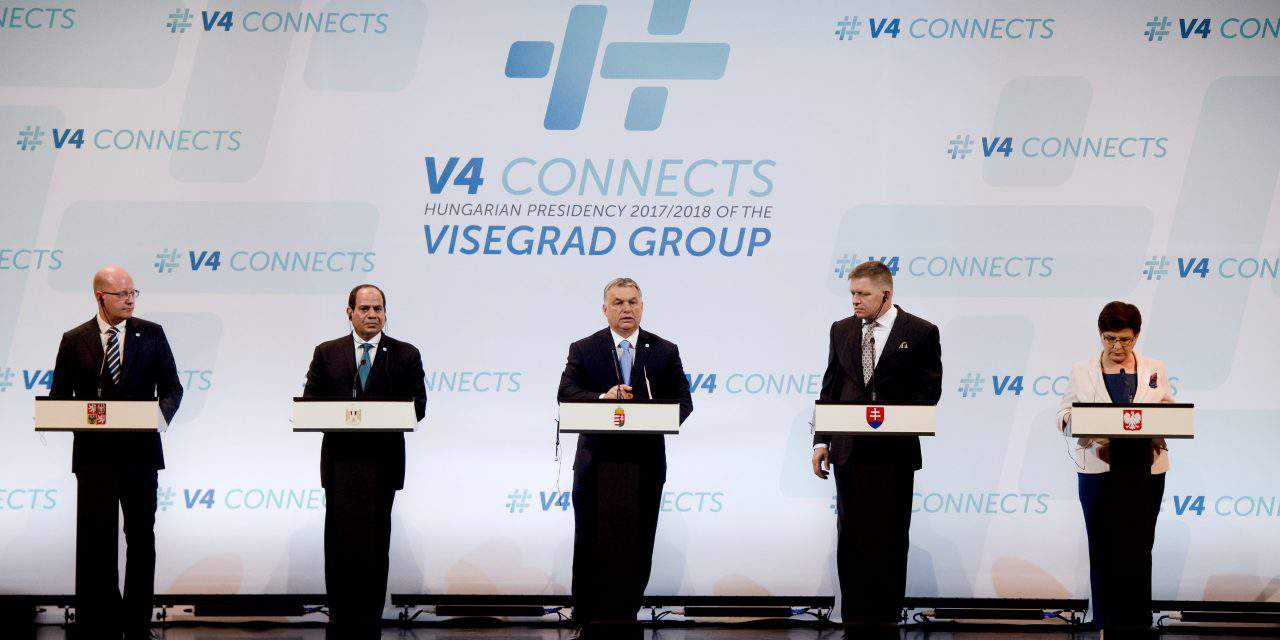 Meeting of Visegrad Four heads of government and the Egyptian president in Budapest – UPDATE
