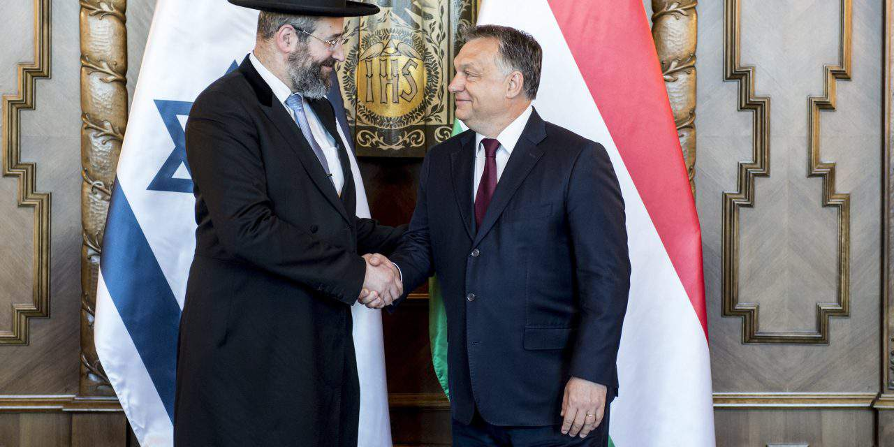Orbán meets Israel's Ashkenazi chief rabbi