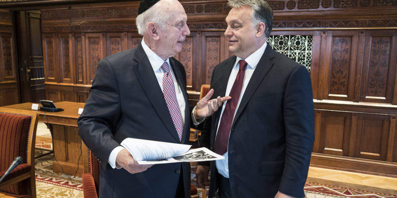 Orbán meets NY rabbi Schneier