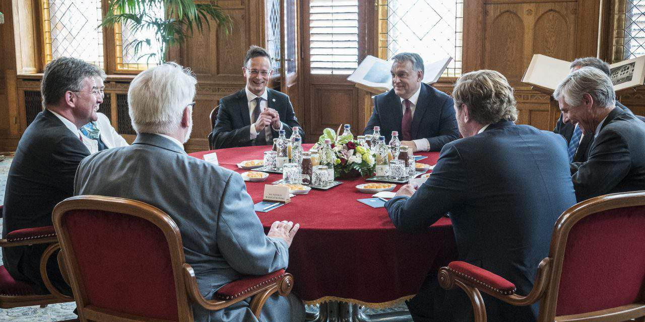 Orbán meets Visegrad Four foreign ministers
