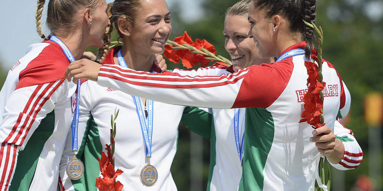 Team Hungary dominated the 2017 Canoe European Championships