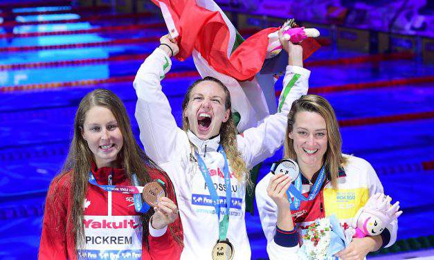 FINA Aquatics, 17th day – Katinka Hosszú wins gold medal, Dávid Verrasztó takes silver medal for Hungary