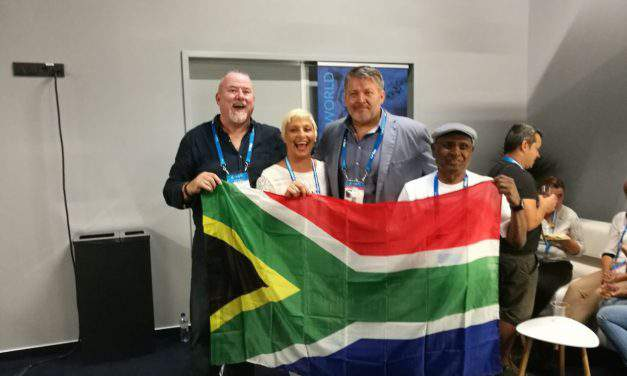 This is how Chad le Clos' parents celebrated their son's victory in Budapest
