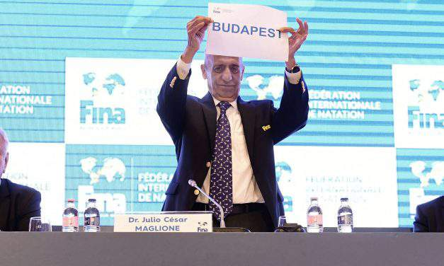 Budapest to host 2024 short course swimming world championships