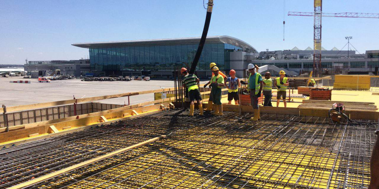 Construction of new pier in full swing at Budapest Airport