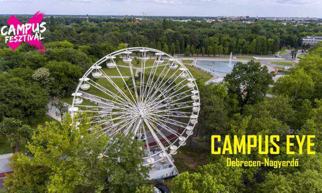 Great fun at Campus Festival: now you can try the giant Ferris wheel