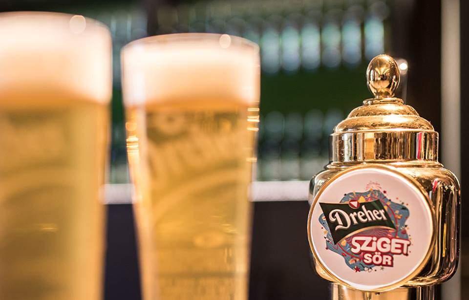 Exclusive beer for Sziget Festival's jubilee