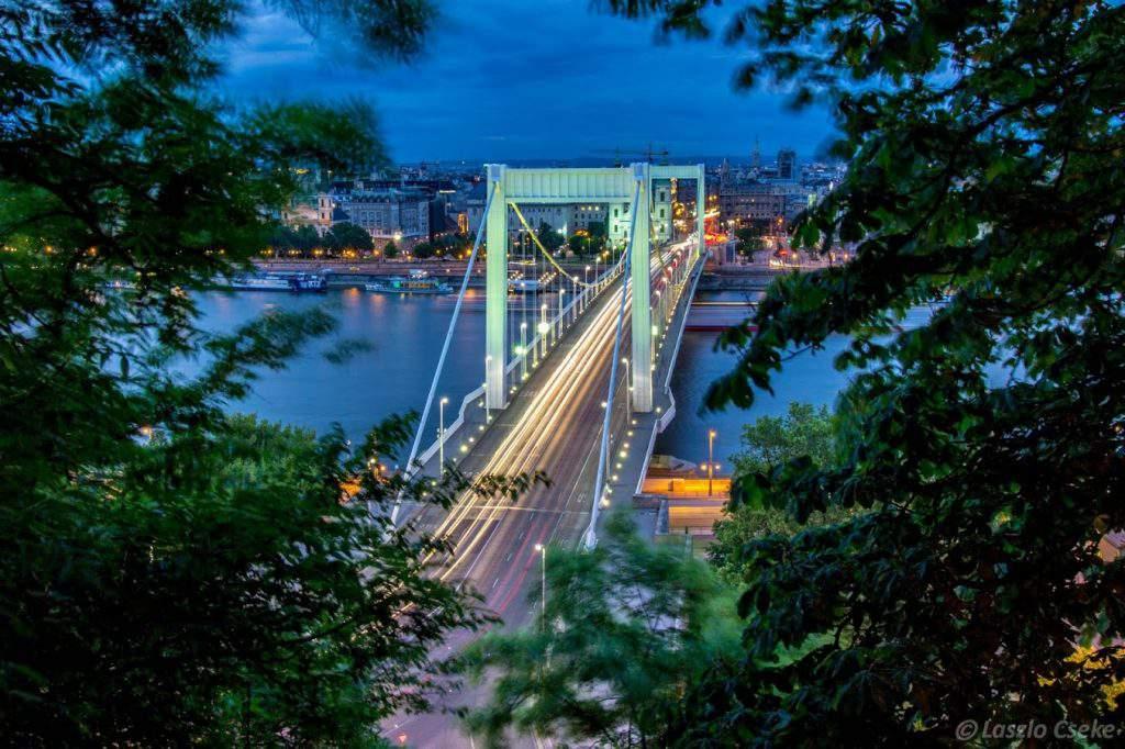 erzsébet elisabeth bridge híd