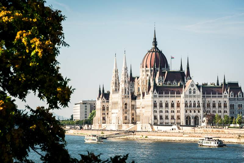 Hungary parliament Budapest