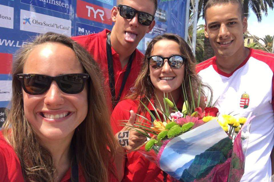 Hungarian open water team is ready for the FINA World Championships