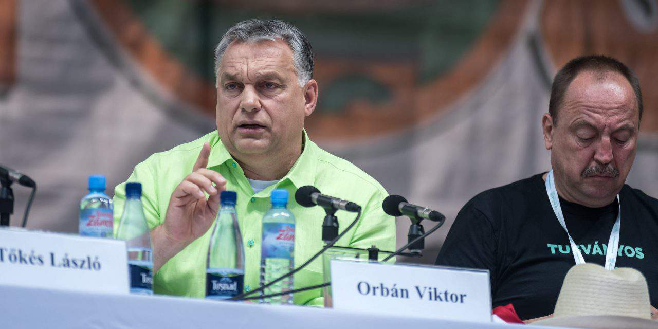 Viktor Orbán: Europe must regain 'independence from Soros empire'