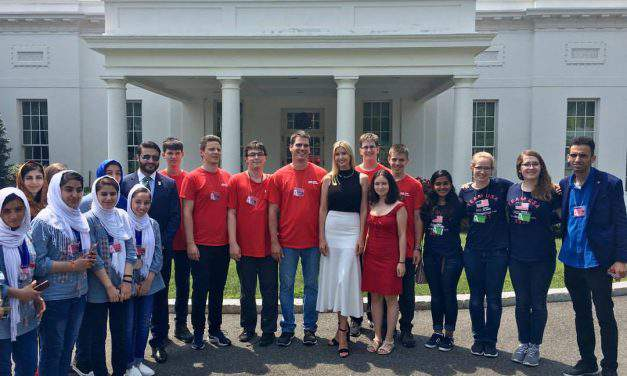 Hungarian winners of First Global Challenge Competition visited the White House