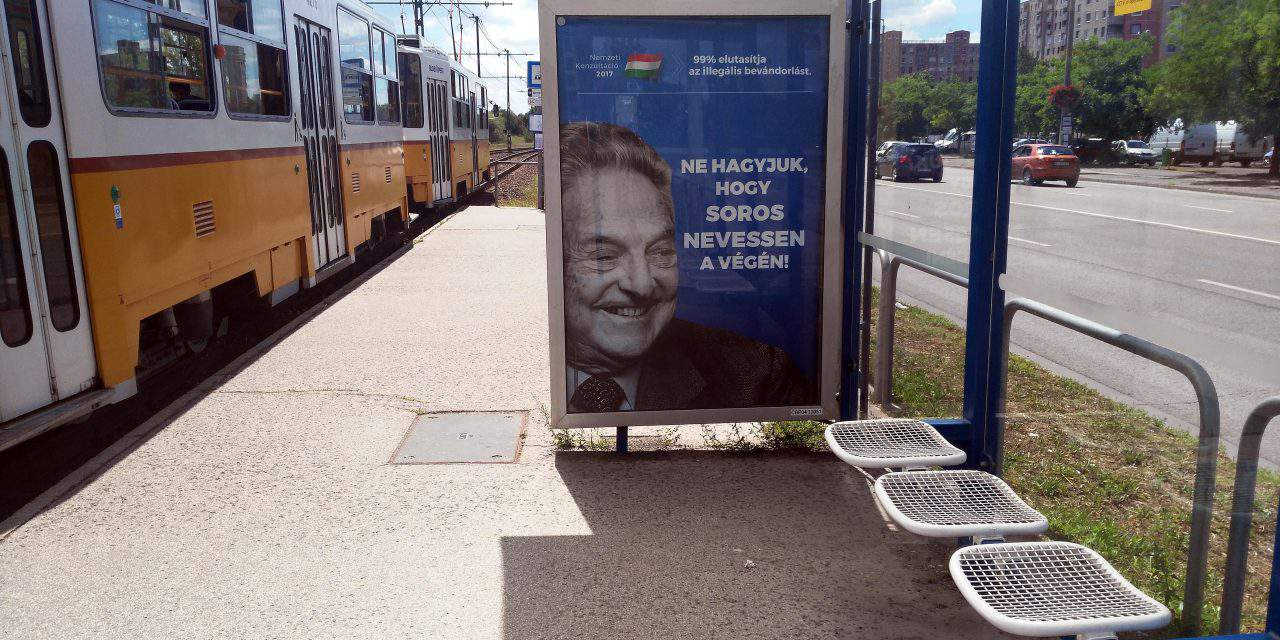 Jewish federation calls on Orbán to drop Soros billboard campaign – UPDATE