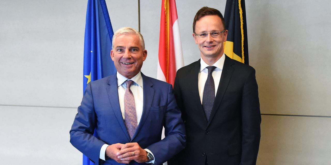 Full agreement with leaders of Baden-Württemberg on protection of external borders, says Hungarian FM
