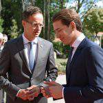 Foreign minister Szijjártó pledged support to Austria foreign minister's migration policy