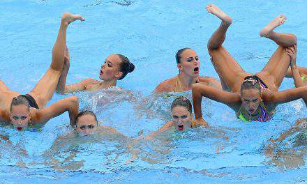 FINA Aquatics 2017, 9th day – Chinese victories in mixed synchro platform diving and synchro swimming, British victory in men's 10 m platform diving