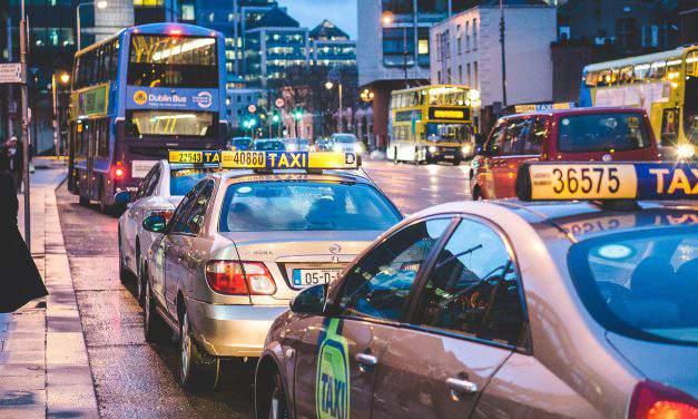 16 euro cents per kilometer in a taxi?