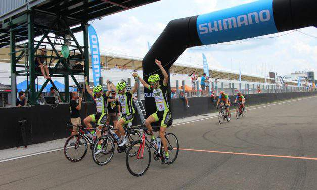 Cyclists take over Hungaroring during the weekend