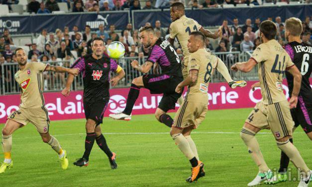 Europa League Q3: Bordeaux single goal defeat Videoton in the away leg