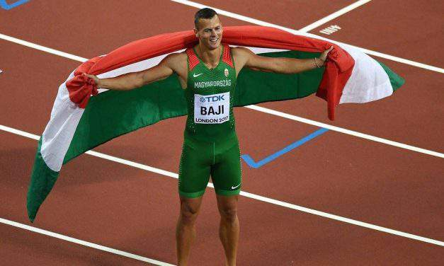 Hungarian Balázs Baji won bronze medal on 110 metres hurdles – World Championships in Athletics